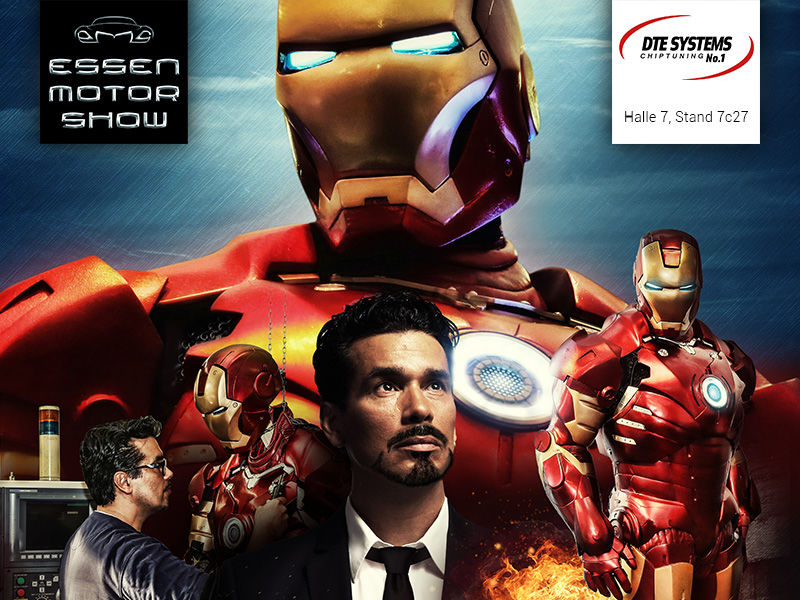 Meet Iron Man at the DTE Systems Booth