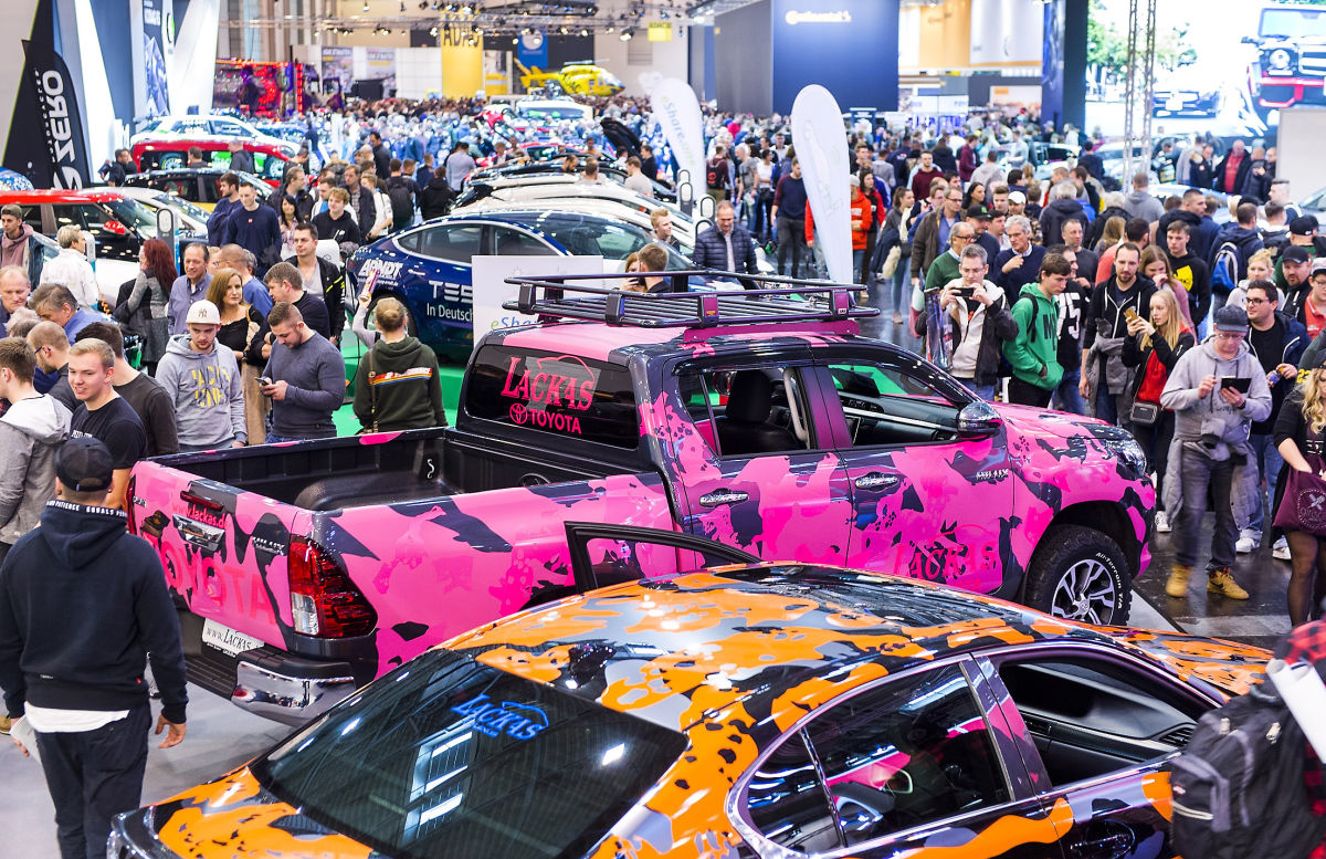 ESSEN MOTOR SHOW MAKES A FLYING START